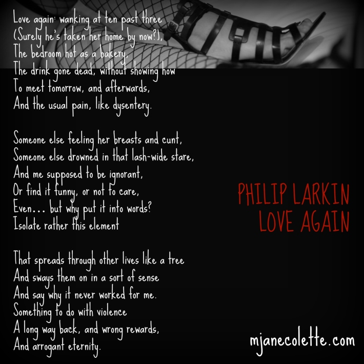 mjc-Philip Larkin Love Again