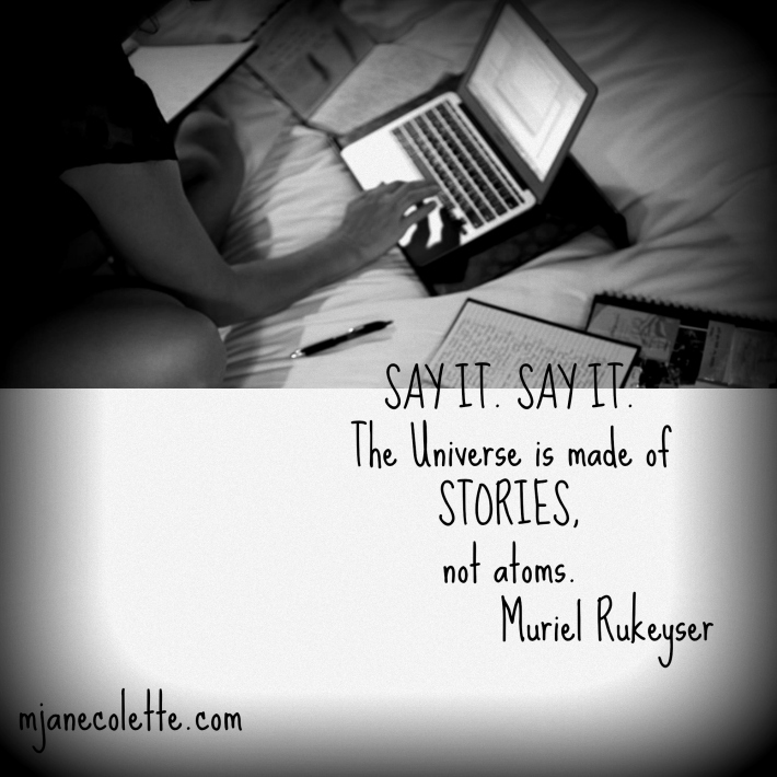 mjc-Say it Say It Muriel Rukeyser