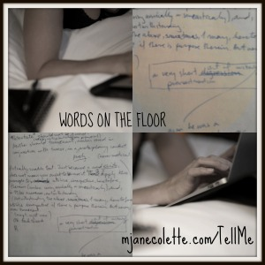 mjc-words on the floor tumescent