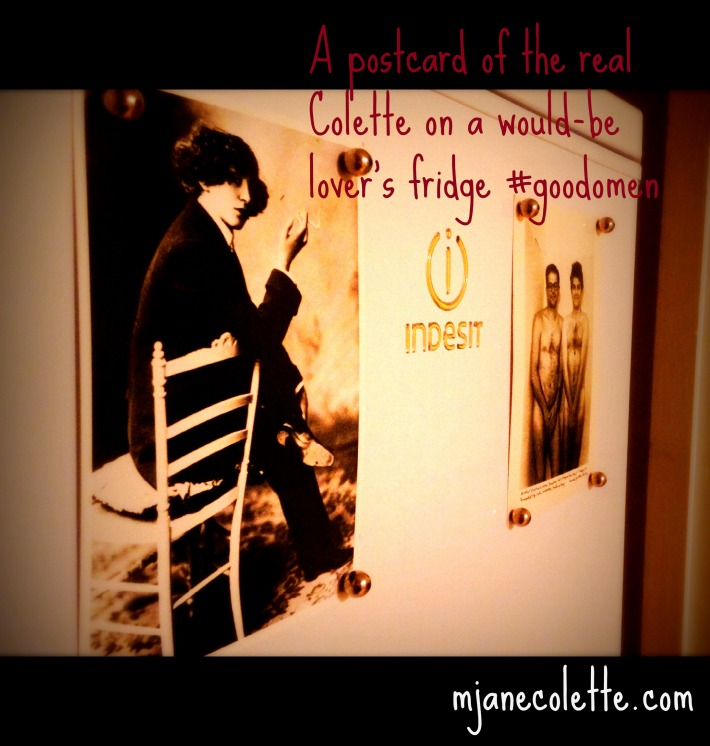 mjc-Colette postcard