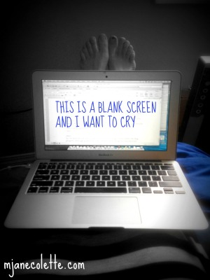 mjc-this is a blank screen