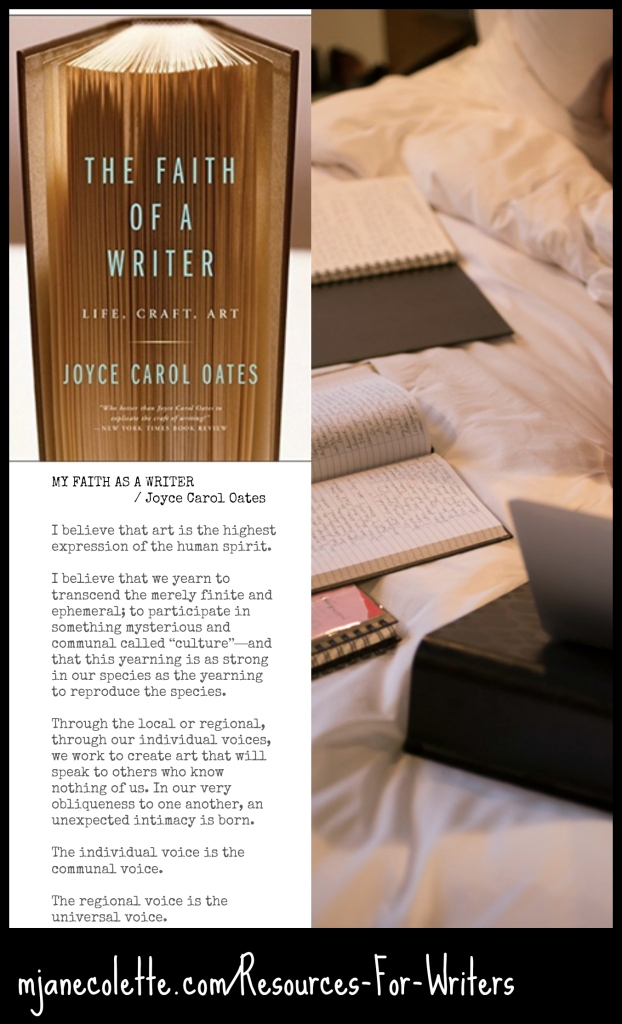 mjc-Jco Faith Of A Writer