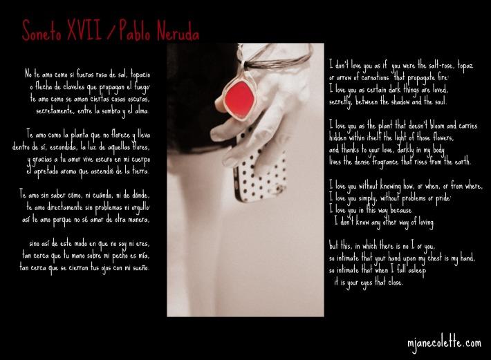 mjc-Soneto Xvii Pablo Neruda