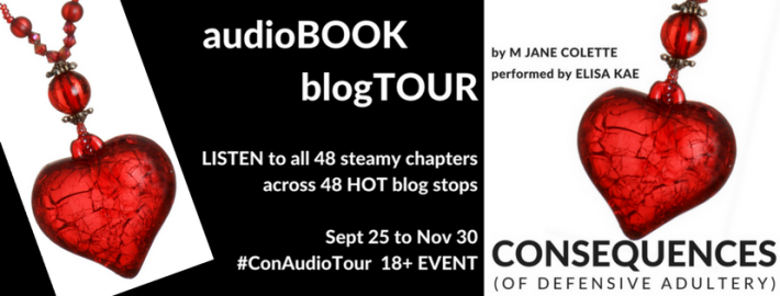 Consequences by M. Jane Colette Audio Tour + Giveaway