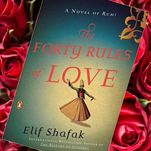 Cover of Elif Shafak's Forty Rules of Love